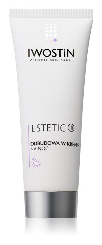 Iwostin Estetic nočna krema za preoblikovanje obraza za zrelo kožo