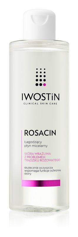 Iwostin Rosacin pomirjevalna micelarna voda za kožo, ki je nagnjena k rdečici