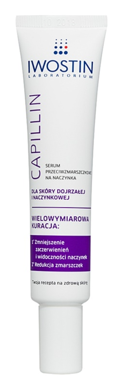 Iwostin Capillin Anti-Wrinkle Serum to Widespread and Bursting Veins