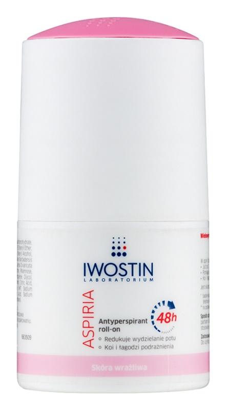 Iwostin Aspiria vlažilni in pomirjajoči antiperspirant roll-on