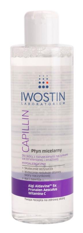 Iwostin Capillin reinigendes Mizellenwasser für empfindliche Haut mit der Neigung zum Erröten