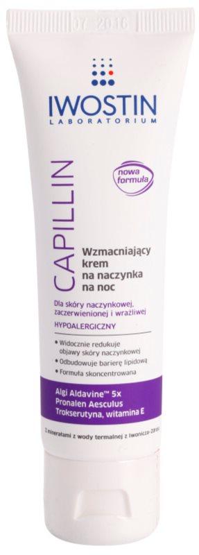 Iwostin Capillin crema restuaradora antivarices de noche