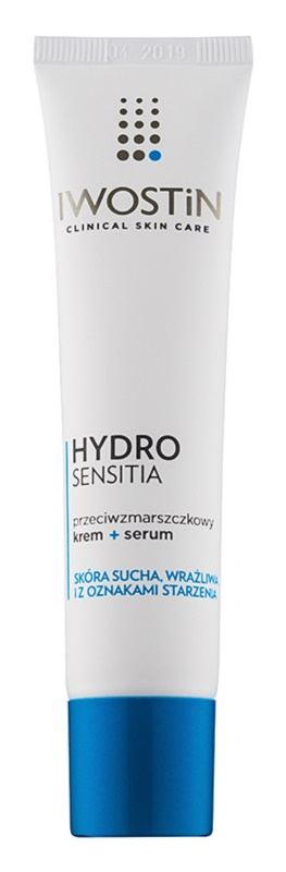 Iwostin Hydro Sensitia serum v kremi proti gubam