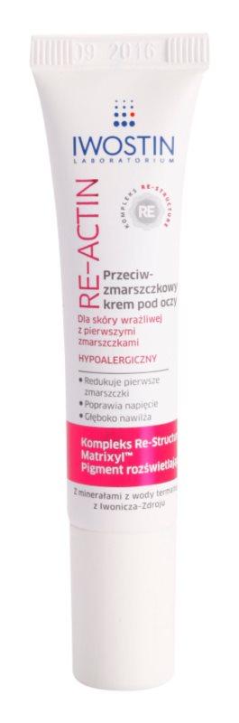 Iwostin Re-Actin Anti-Wrinkle Eye Cream For Sensitive Skin