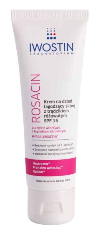 Iwostin Rosacin Soothing Day Cream against Redness  SPF 15