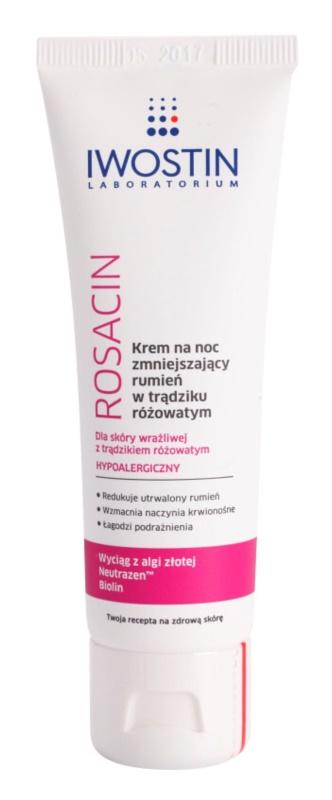 Iwostin Rosacin Nachtcreme zur Reduktion von Hautrötungen