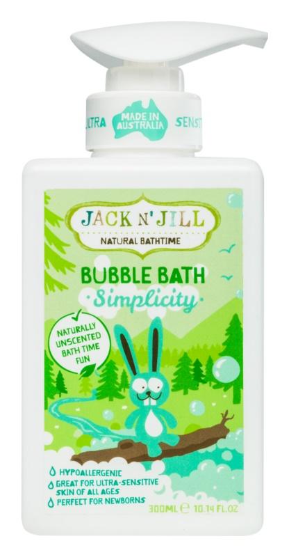 Jack N' Jill Simplicity spuma de baie pentru copii