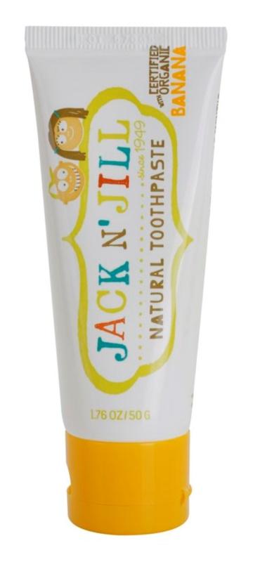 Jack N' Jill Natural natürliche Zahnpasta für Kinder mit Bananengeschmack
