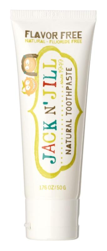Jack N' Jill Natural Natuurlijke Kinder Tandpasta zonder Smaak