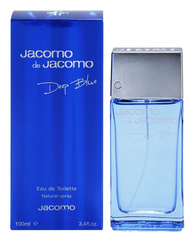 Jacomo Jacomo de Jacomo Deep Blue Eau de Toilette für Herren 100 ml
