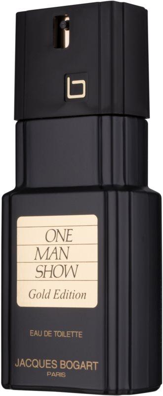 Jacques Bogart One Man Show Gold Edition eau de toilette férfiaknak 100 ml