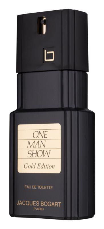 Jacques Bogart One Man Show Gold Edition eau de toilette pentru barbati 100 ml