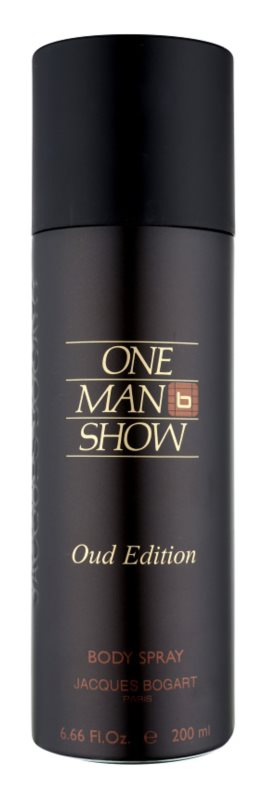 Jacques Bogart One Man Show Oud Edition Körperspray für Herren 200 ml