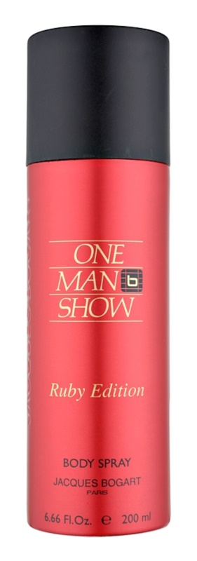 Jacques Bogart One Man Show Ruby Edition pršilo za telo za moške 200 ml