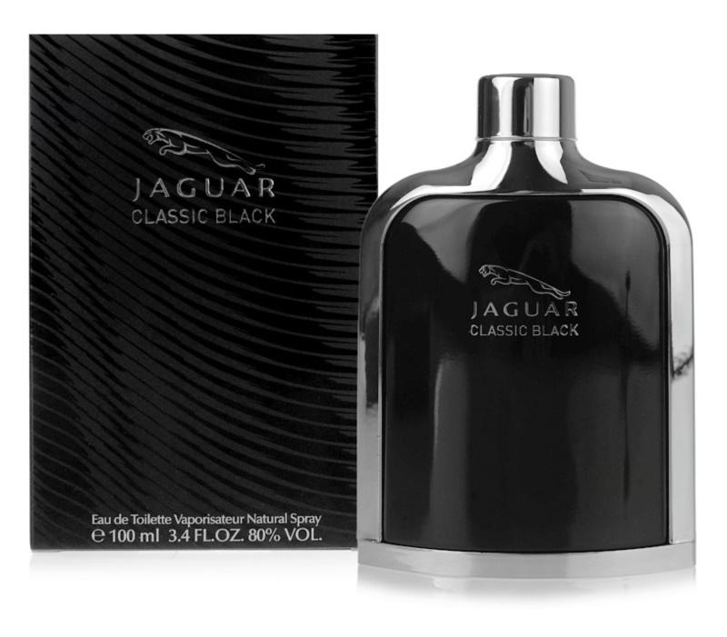 Jaguar Classic Black Eau de Toilette für Herren 100 ml