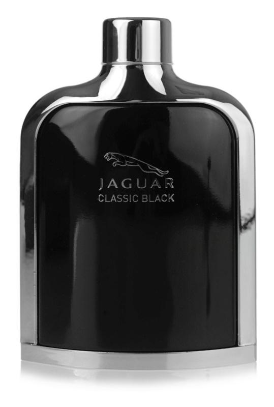 Jaguar Classic Black eau de toilette pentru bărbați 100 ml