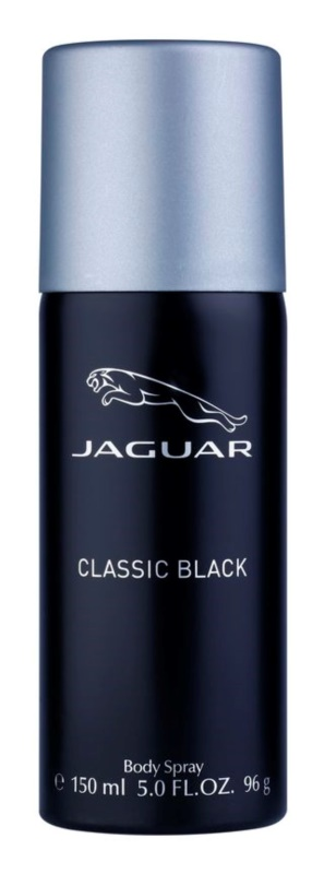 Jaguar Classic Black deospray pre mužov 150 ml