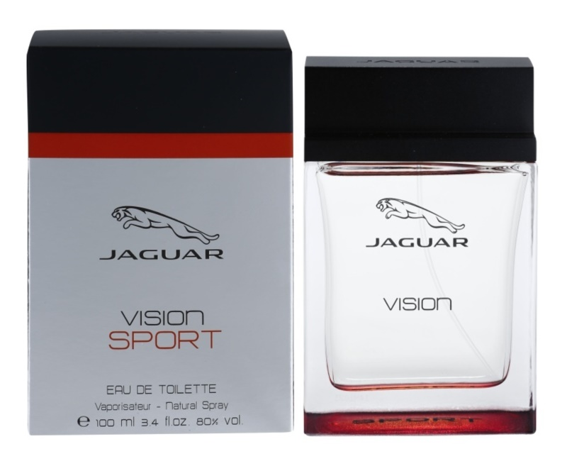jaguar vision sport eau de toilette pour homme 100 ml. Black Bedroom Furniture Sets. Home Design Ideas