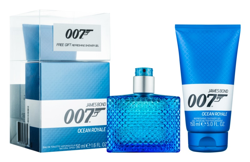 James Bond 007 Ocean Royale coffret cadeau I.