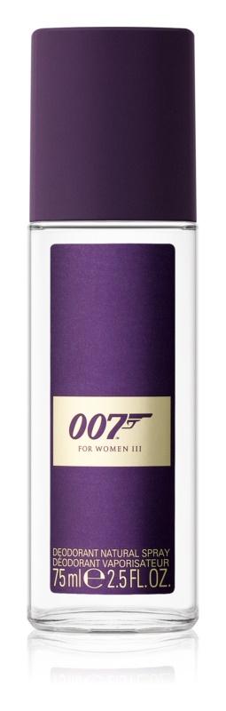 James Bond 007 James Bond 007 for Women III deodorant s rozprašovačem pro ženy 75 ml