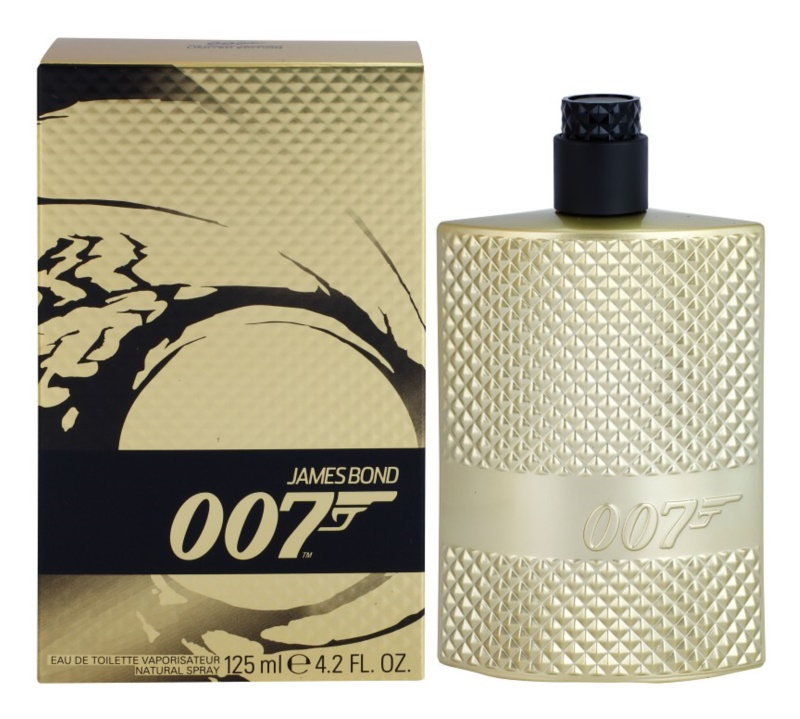 James Bond 007 Gold Edition eau de toilette pour homme 125 ml