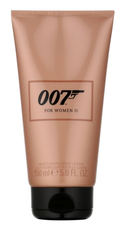 James Bond 007 James Bond 007 For Women II latte corpo per donna 150 ml