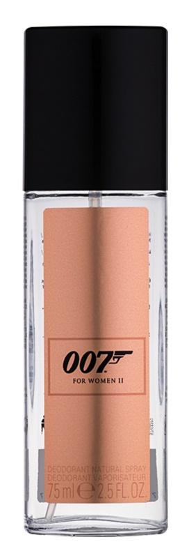 James Bond 007 For Women II Deo mit Zerstäuber für Damen 75 ml