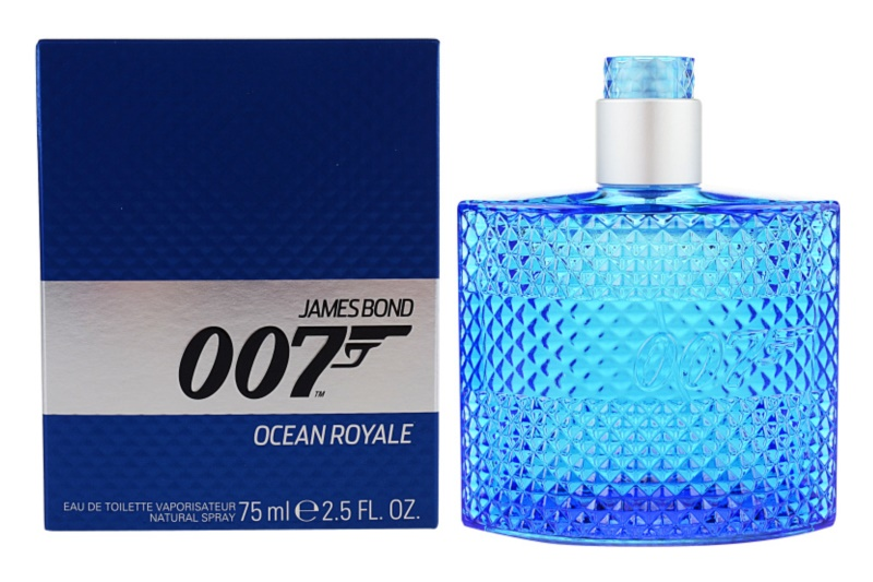 James Bond 007 Ocean Royale Eau de Toilette for Men 75 ml