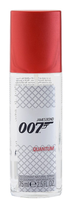 James Bond 007 Quantum Deo met verstuiver voor Mannen 75 ml