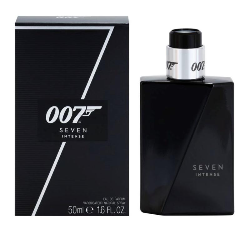 James Bond 007 Seven Intense Parfumovaná voda pre mužov 50 ml