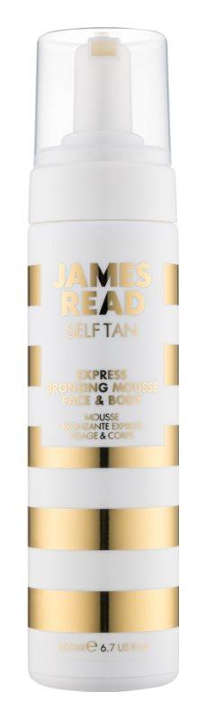 James Read Self Tan spumă bronzantă cu efect de exprimare corp si fata