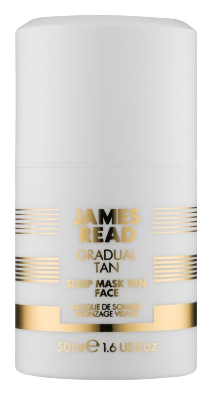 James Read Gradual Tan Self Tanning Night Moisturizing Mask For Face