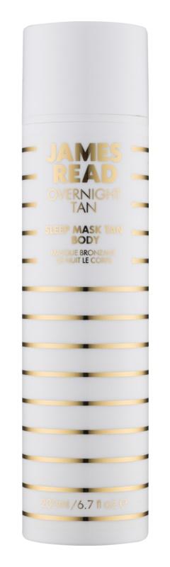 James Read Gradual Tan samoopaľovacia nočná hydratačná maska na telo