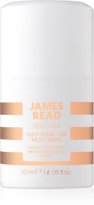James Read Self Tan maschera autoabbronzante notte per il viso