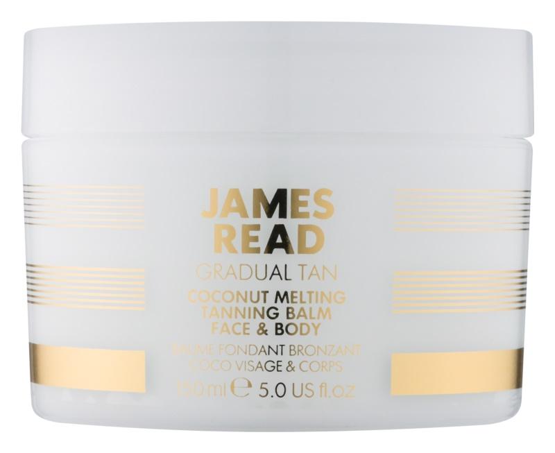 James Read Gradual Tan crema autoabbronzante corpo e viso con olio di cocco