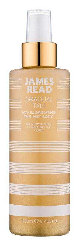 James Read Gradual Tan H2O Illuminating brume auto-bronzante corps