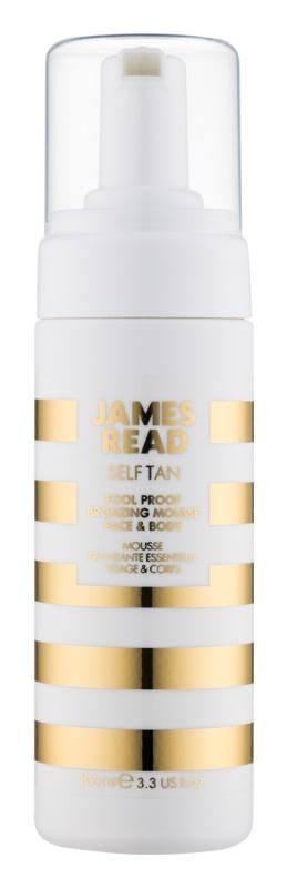 James Read Self Tan Bräunungsschaum für Körper und Gesicht