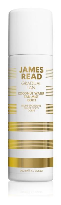 James Read Gradual Tan Coconut Water samoopaľovacia hmla na telo