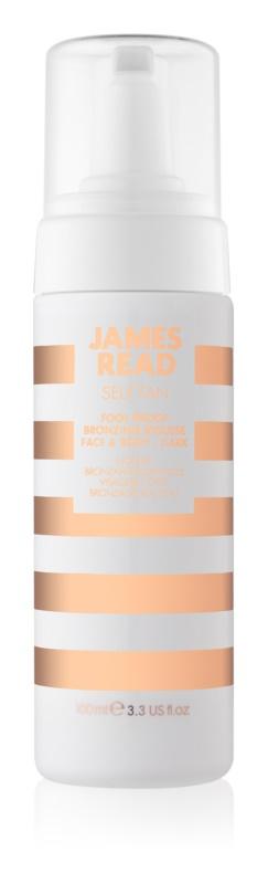 James Read Self Tan bronzer pena za obraz in telo