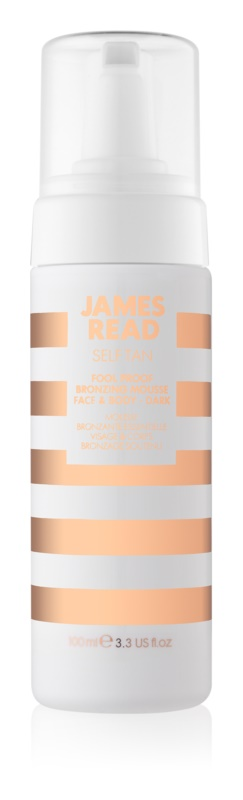 James Read Self Tan mousse bronzante visage et corps