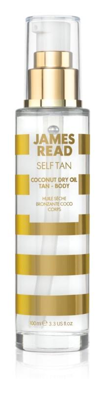 James Read Self Tan samoopalovací suchý olej