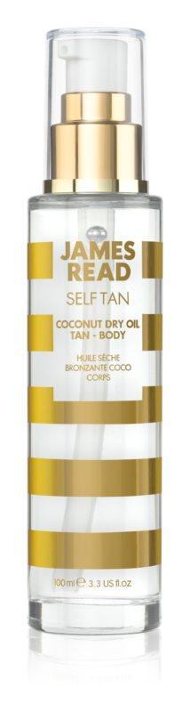 James Read Self Tan суха олійка для автозасмаги