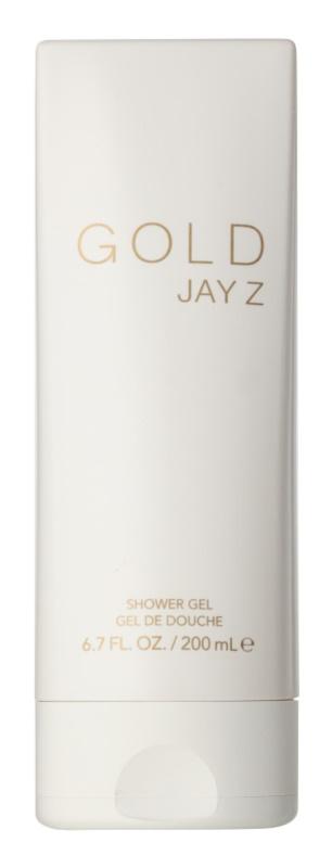 Jay Z Gold gel doccia per uomo 200 ml