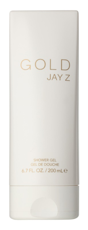 Jay Z Gold gel douche pour homme 200 ml