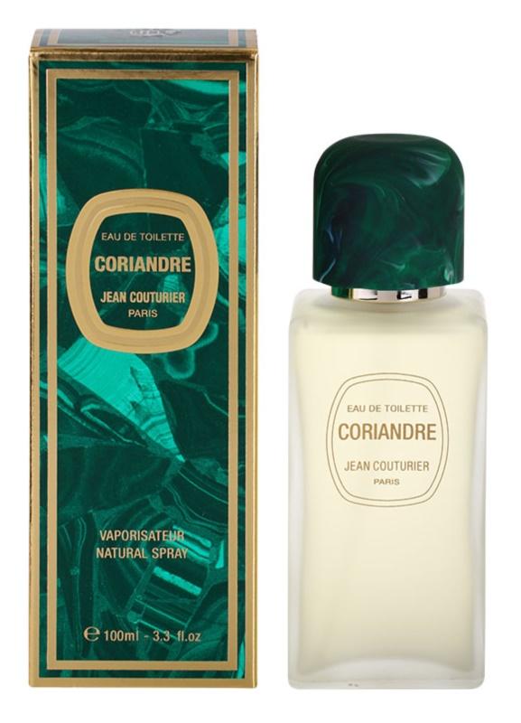Jean Couturier Coriandre eau de toilette pentru femei 100 ml