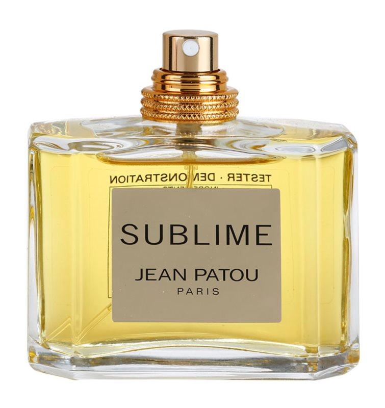 Jean Patou Sublime eau de toilette teszter nőknek 75 ml