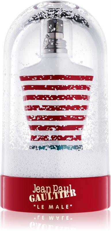 Jean Paul Gaultier Le Male Christmas Collector Edition 2017 toaletní voda pro muže 125 ml