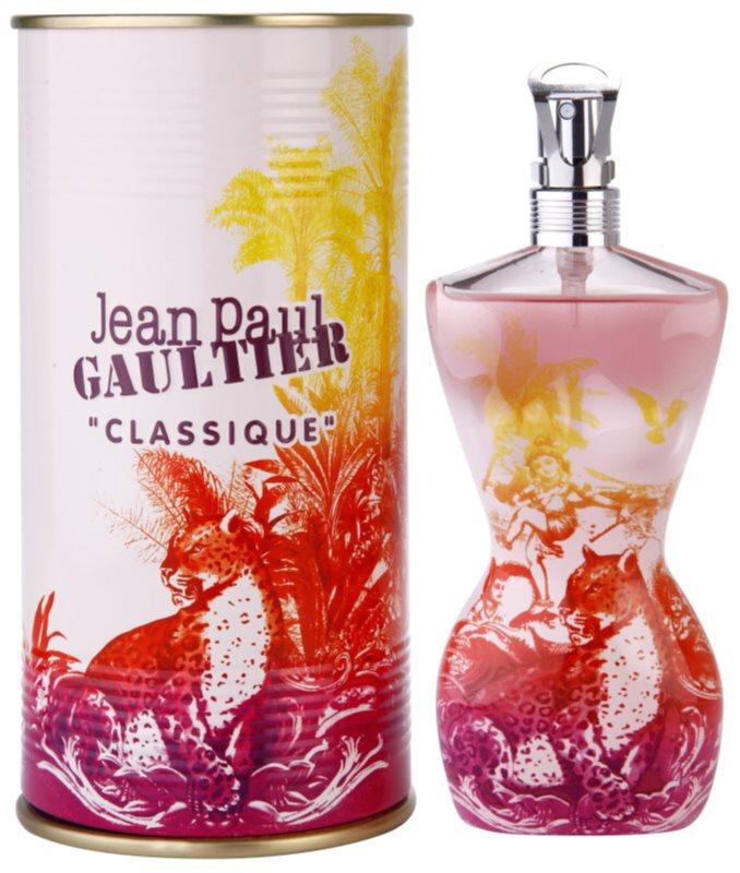 Jean Paul Gaultier Classique Summer 2015 eau de toilette pour femme 100 ml