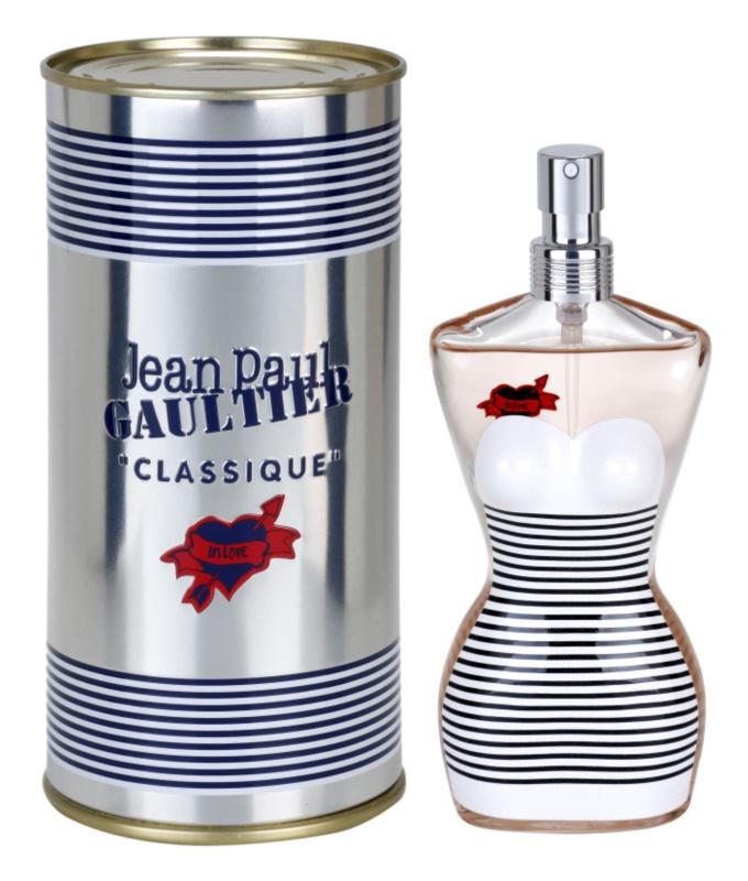 Jean Paul Gaultier Classique The Sailor Girl in Love eau de toilette nőknek 100 ml limitált kiadás Couple Edition 2013