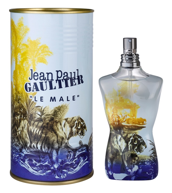 Jean Paul Gaultier Le Male Summer 2015 Eau de Cologne für Herren 125 ml
